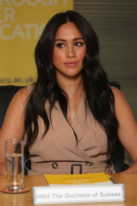 Meghan markle is the duchess of sussex and a former actress. Meghan Markle Gives Landmark Interview - First Time Since Royal Split