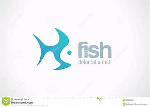 Logo Fish Abstract Vector Creative Design Concept. Royalty ...