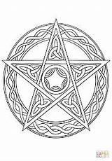 Pentagram Google Coloring Pages sketch template