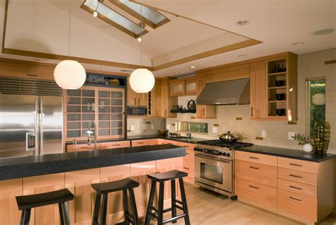how to build a kitchen island table beautiful japanese kitchen design ideas for modern home