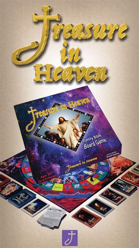 treasure  heaven   family bible board game