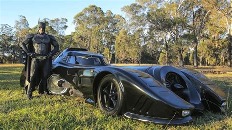 batman real car real life batmobile man spends two years building iconic
