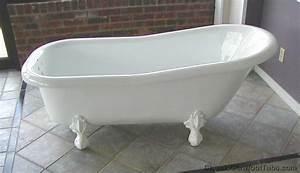 60quot Acrylic Slipper Clawfoot Tub Classic Clawfoot Tub