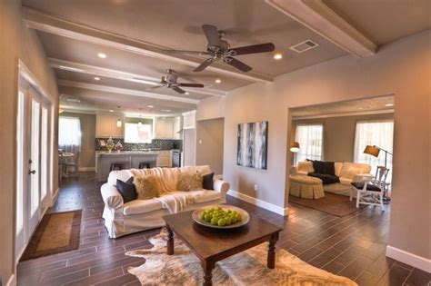 home interior redesign vacant home staging 50s ranch remodel traditional