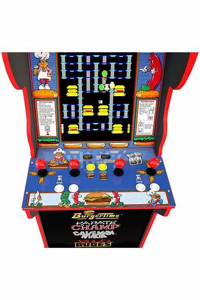 Burgertime Arcade Cabinet Arcade1up Burger Axe Golden