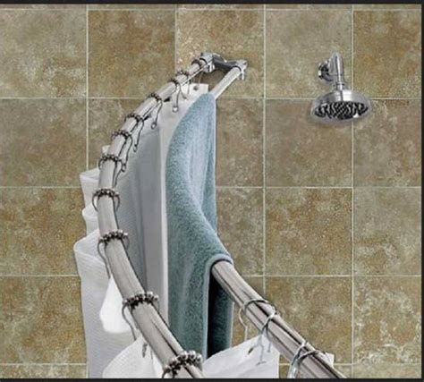 curved curtain rod for corner curved shower curtain rods for corner showers curtain