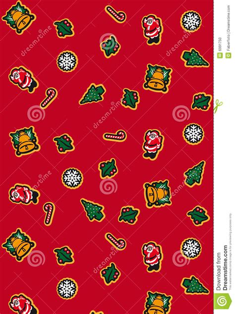 christmas gift wrap stock photo image