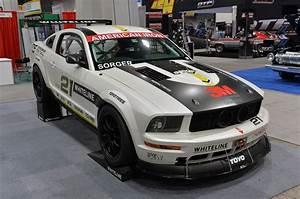 SEMA 2013: NASCAR-powered 2008 Ford Mustang AIX Race CarNO Car NO Fun! Muscle Cars and Power ...