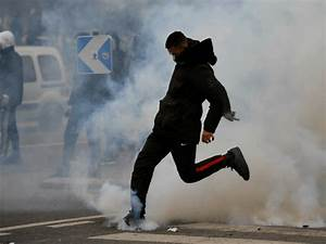 Paris Riots: School Chief Injured as Teens Protest Police ...