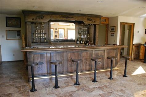 Vintage Bar by Made Vintage Bar And Backbar By Daniel Cabinets