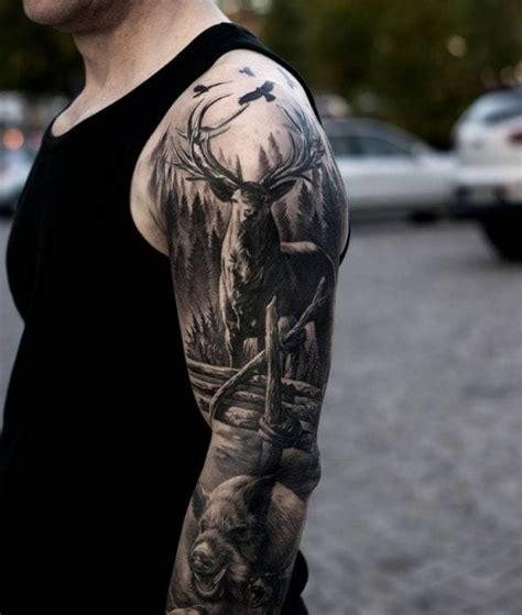 hunting sleeve tattoo creativefan