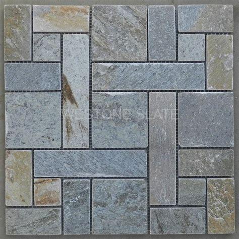 slate mosaic slate mosaic tiles display westone slate