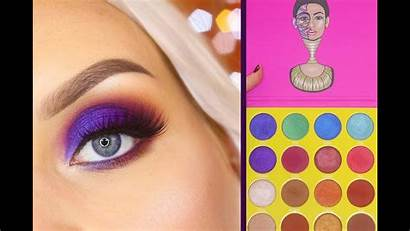 Masquerade Place Palette Juvia Makeup Tutorial Eyeshadow