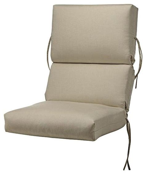 45 in d flax sunbrella high back bullnose outdoor chair