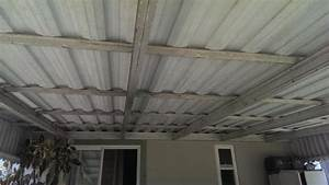 Converting Aluminum Awning To Wood  Composite Ceiling