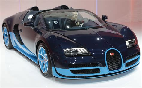 It is fitted with the same engine and body kit as the super sport model and has a colour scheme reminiscent of the bugatti type 37a, which was a supercharged variant of the regular type 37. First Look: 2012 Bugatti Veyron Grand Sport Vitesse ...