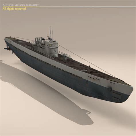german type ix submarine