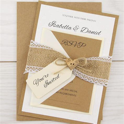 Wedding Invitation Interesting Rustic Wedding Invitations