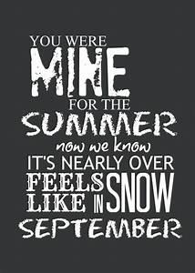 black and white, lyrics, one direction, september, summer ...