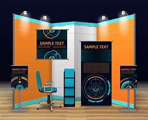 Exhibition, Stand, Design, 484189, Vector, Art, At, Vecteezy