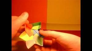 Comment Faire Une Boite En Origami : origami comment faire une boite en forme d 39 toile youtube ~ Dallasstarsshop.com Idées de Décoration