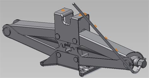Scissor Jack Assembly Design 3