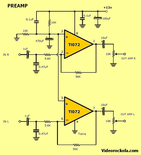 Amplifier With Tda Electronics Projects Circuits