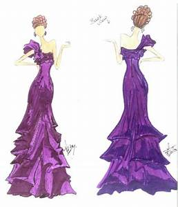 How To Sketch Prom Dresses | Fashion Belief