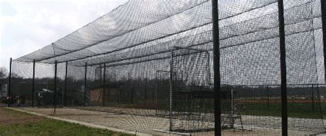 Deck Batting Cages Nj by Installing A Backyard Batting Cage Signature Contractors