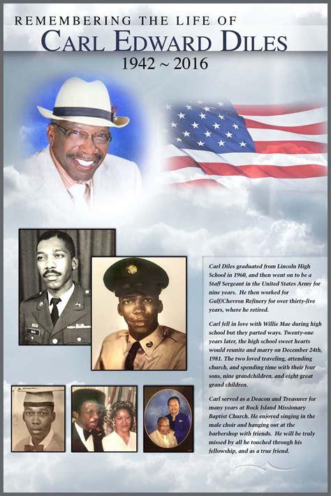 Personalized Memorial Posters – CapPanels.com