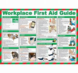 Workplace First Aid Guide Poster  U2013 Chartex Ltd