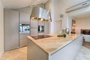 cuisine salle a manger dans veranda ilot scandinave With salle À manger contemporaine avec credence cuisine scandinave