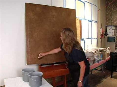smush  metallic paint faux finishing technique youtube