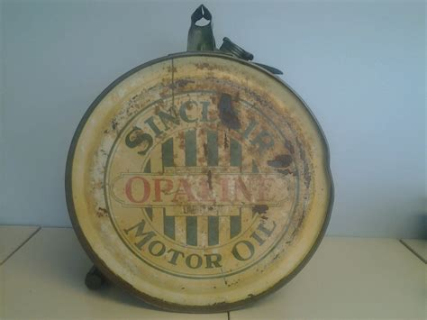 Sinclair Rocker Oil Can 1920s