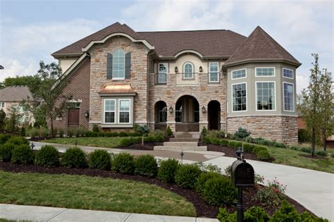 Fischer Homes Stanton Floor Plan by Fischer Homes Nottoway Model Exteriors