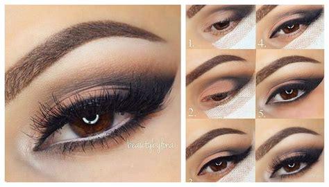 Дневной макияж для карих глаз пошаговая инструкция фото и видео