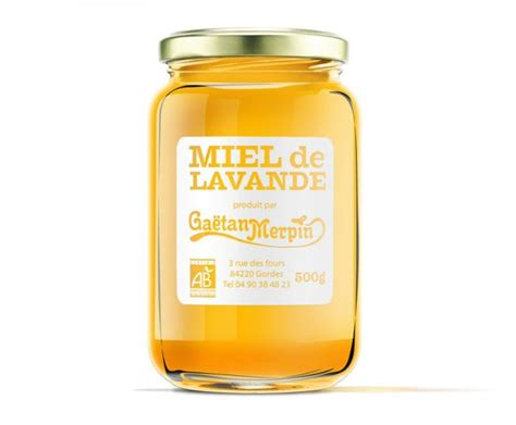 etiquette pour pot de miel miel de lavande le choix du roi le choix du roi