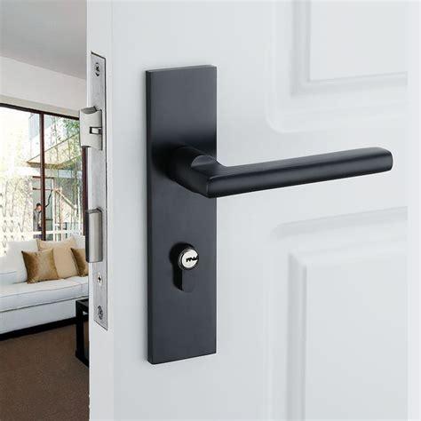 interior door handles for homes 2015 hot aluminum home door handle for interior doors black kitchen door handleshigh quality
