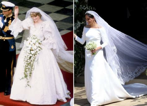 Meghan Markle's Wedding Dress Compared To