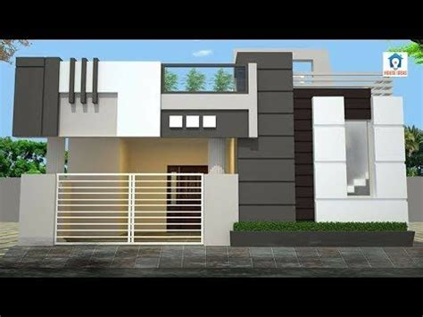 home elevation designs  single floor small home