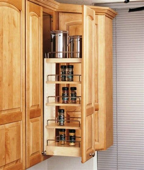 Cabinet Pull Out Spice Rack by Rev A Shelf Cabinet Pullout Organizer Spice Rack