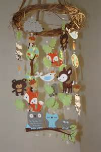 Woodland Critter Baby Forest Animal Mobile