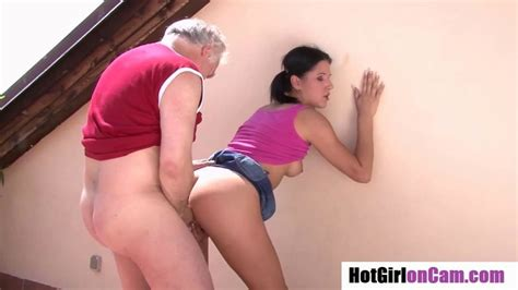 Older Man Fucking Younger Woman From Behind Free Porn On