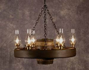 Ideas about wagon wheel chandelier on