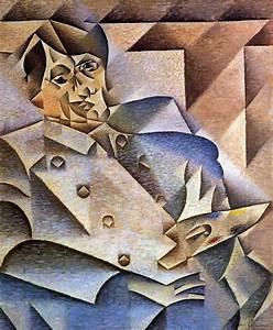Portrait of Pablo Picasso, 1912 - Juan Gris - WikiArt.org