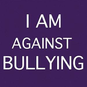 I am against Bullying Poster | Cyber bullying, Anti ...