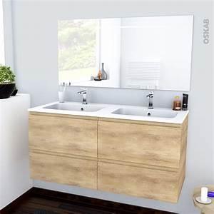 Meuble Salle De Bain Double Vasque 120 Cm : lavabo double vasque retro simple beliani meuble meubles ~ Edinachiropracticcenter.com Idées de Décoration