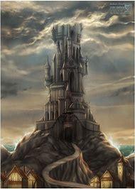 Wizard Castle Tower Art