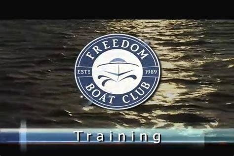 Freedom Boat Club Training training videos by jacksonville video production