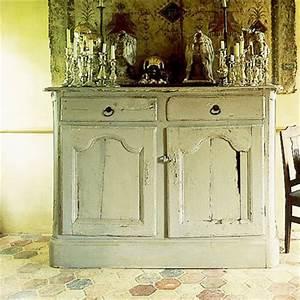Patiner Un Meuble En Blanc : peindre ou patiner un meuble toutes nos techniques ~ Dailycaller-alerts.com Idées de Décoration